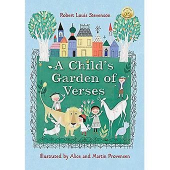 Robert Louis Stevensons ett barns trädgård av verser