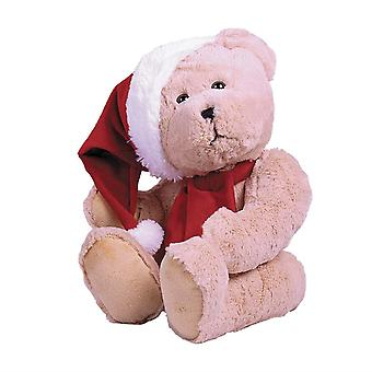 The Christmas Workshop 40cm Traditional Festive Bear Plush Toy