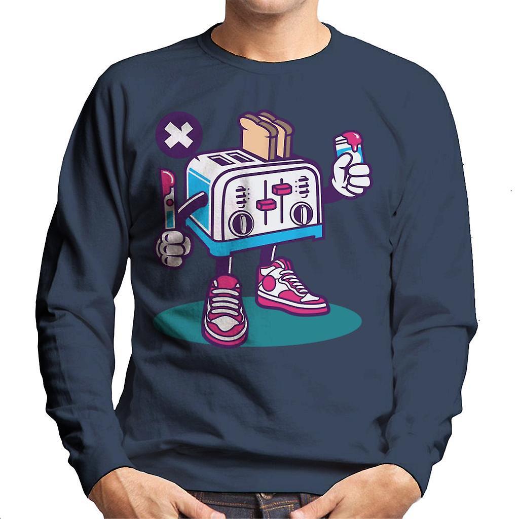 Toaster Man Men S Sweatshirt Fruugo