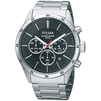 Pulsar horloges PT3005X1-mannen horloge, stalen, kleur: zilver