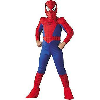 Klassinen Spiderman lapsi puku
