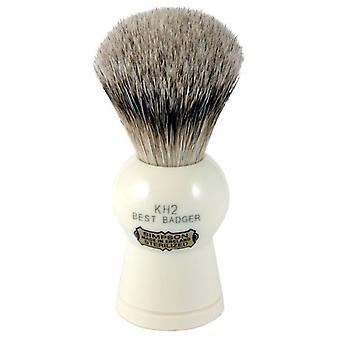 Simpsons Keyhole KH2 Best Badger Hair Shaving Brush Medium - Imitation Ivory