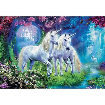 Educa Unicorns In The Forest Jigsaw Puzzle (500 Pieces)