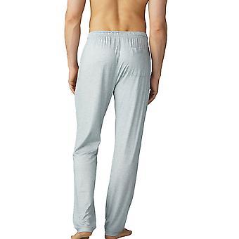 Pantalon de Pyjama Mey 65660-620 hommes Jefferson Light Grey Melange