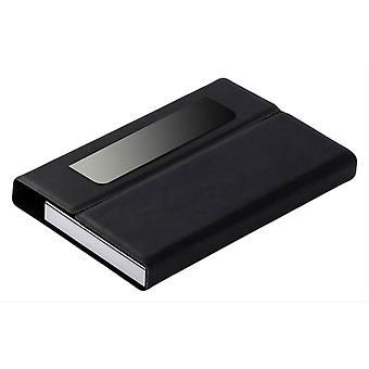 David Van Hagen PU Business Card Case - Black
