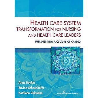 Transformation du système des soins de santé aux soins infirmiers et des responsables de soins de santé mise en œuvre d'une Culture de protection de Boykin & Anne