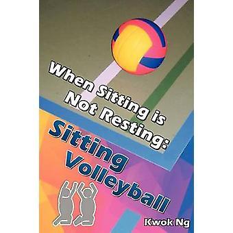 Beim sitzen nicht sitzen Volleyball Ng & Kwok ruht