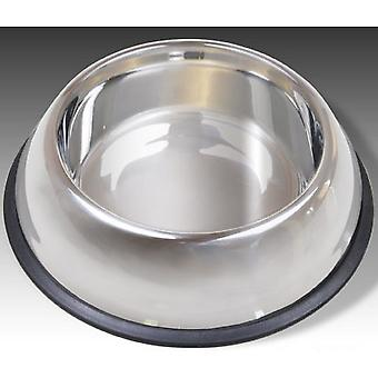 Van Ness Non Tip Stainless Steel Pet Food Dish