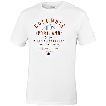Columbia Leathan Trail EM0729100 t-shirt universel hommes d'été
