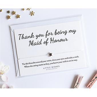 شكرا ً لكونك خادمتي سوار سحر الشرف مع ظرف