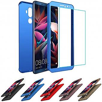 360 huden med Glass Huawei kompis 10 Pro (bla-l29)