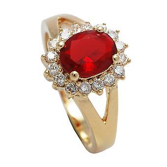 О, да! Ювелирные изделия 18kt подлинное золото заполнено кольцо