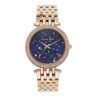 Michael Kors Mk3728 Darci Rose Gold & Purple Ladies Watch
