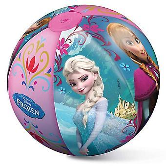 Disney Frozen Anna Elsa Strandboll Badboll Uppblåsbar 50cm