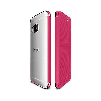 5 Pack -HTC Dot View Ice Case for HTC One M9 - Candy Floss Pink - 99H20129-00