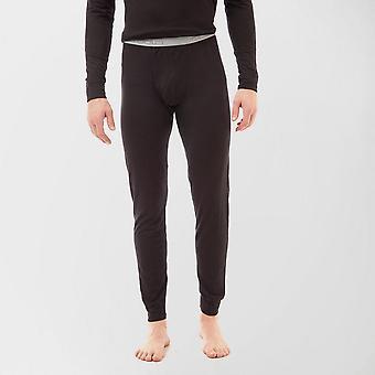 New Odlo Men's Merino Pants Black