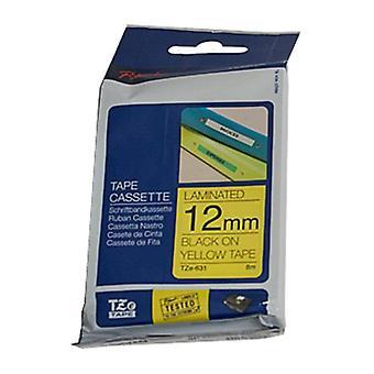Brother TZe631 12 mm mærknings tape