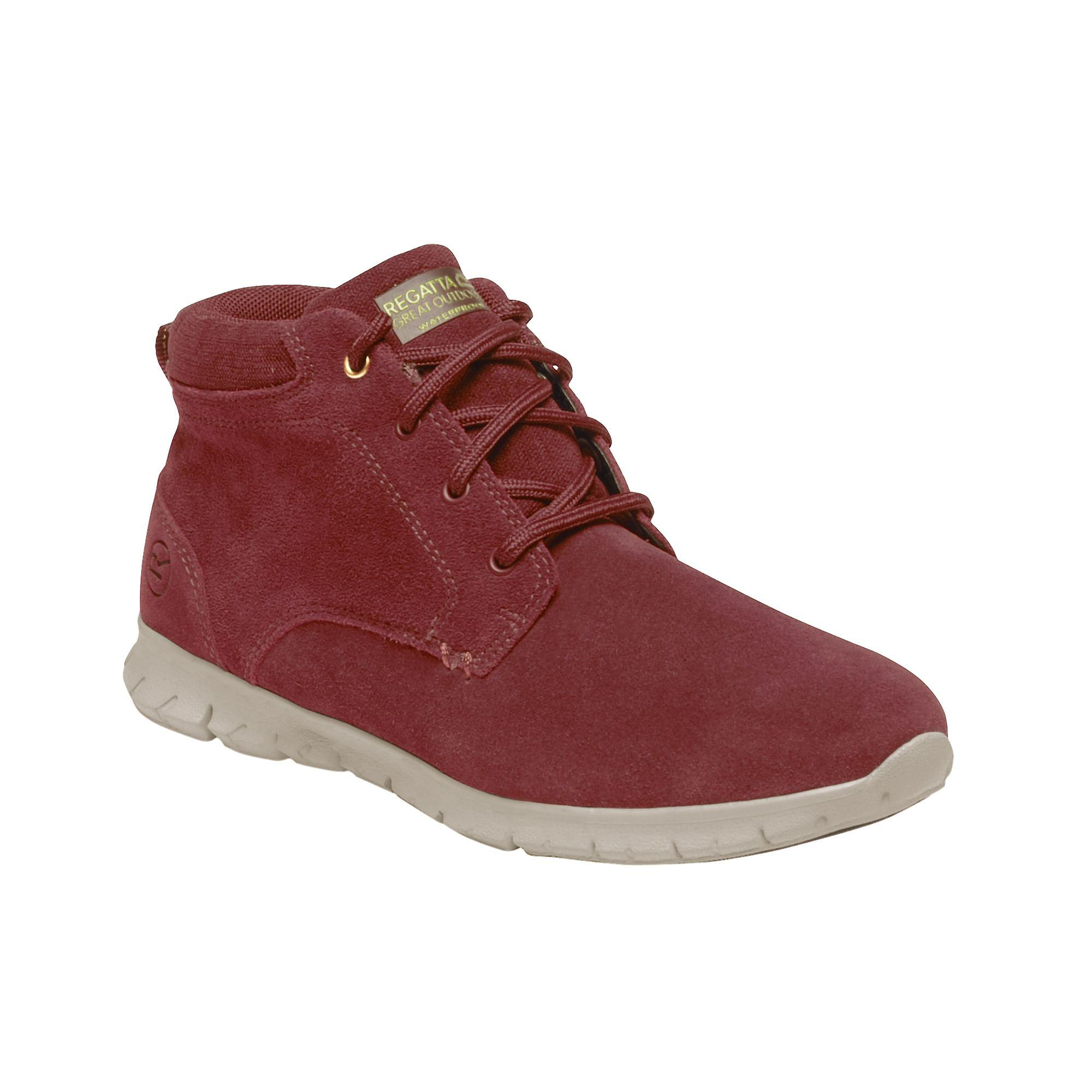 Regatta Great Outdoors Womens/ladies Marine Suede Leather Thermo Ankle Boots (en)