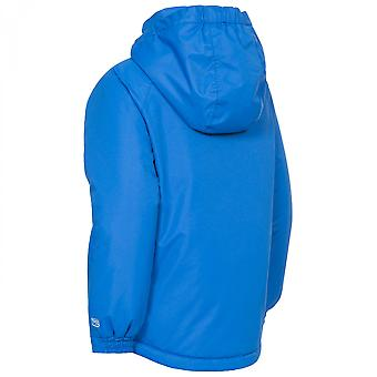 Trespass Boys Propell Hooded Touch Fastening Weatherproof Ski Jacket