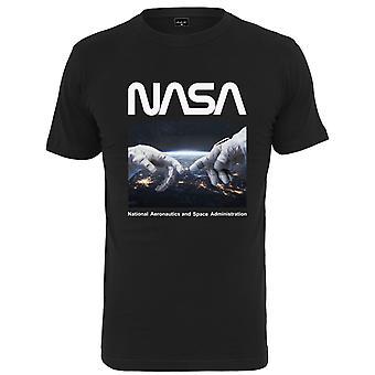Mister Tee Shirt - NASA Astronaut Hands Black