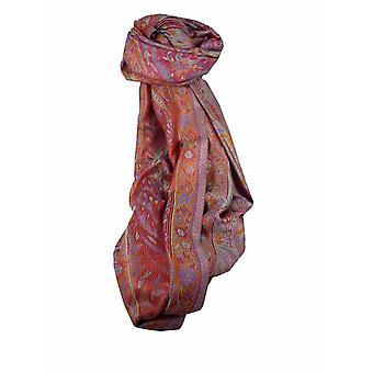 Mens Jamawar Premium Silk Scarf Pattern 8799 by Pashmina & Silk