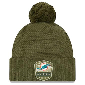 New Era Salute to Service Women's Hat - Miami Dolphins