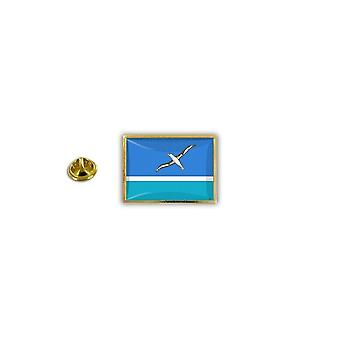 Pine PineS Pin Badge Pin-apos;s Metal Broche Papillon Flag Midway