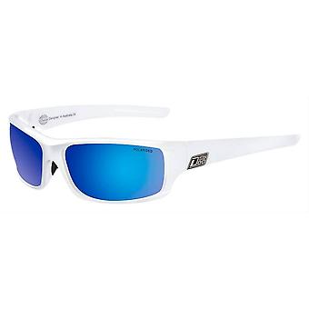 Dirty Dog Clank Sonnenbrille - weiß/blau