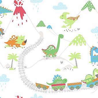 Dino Town Dinosaur Wallpaper Holden
