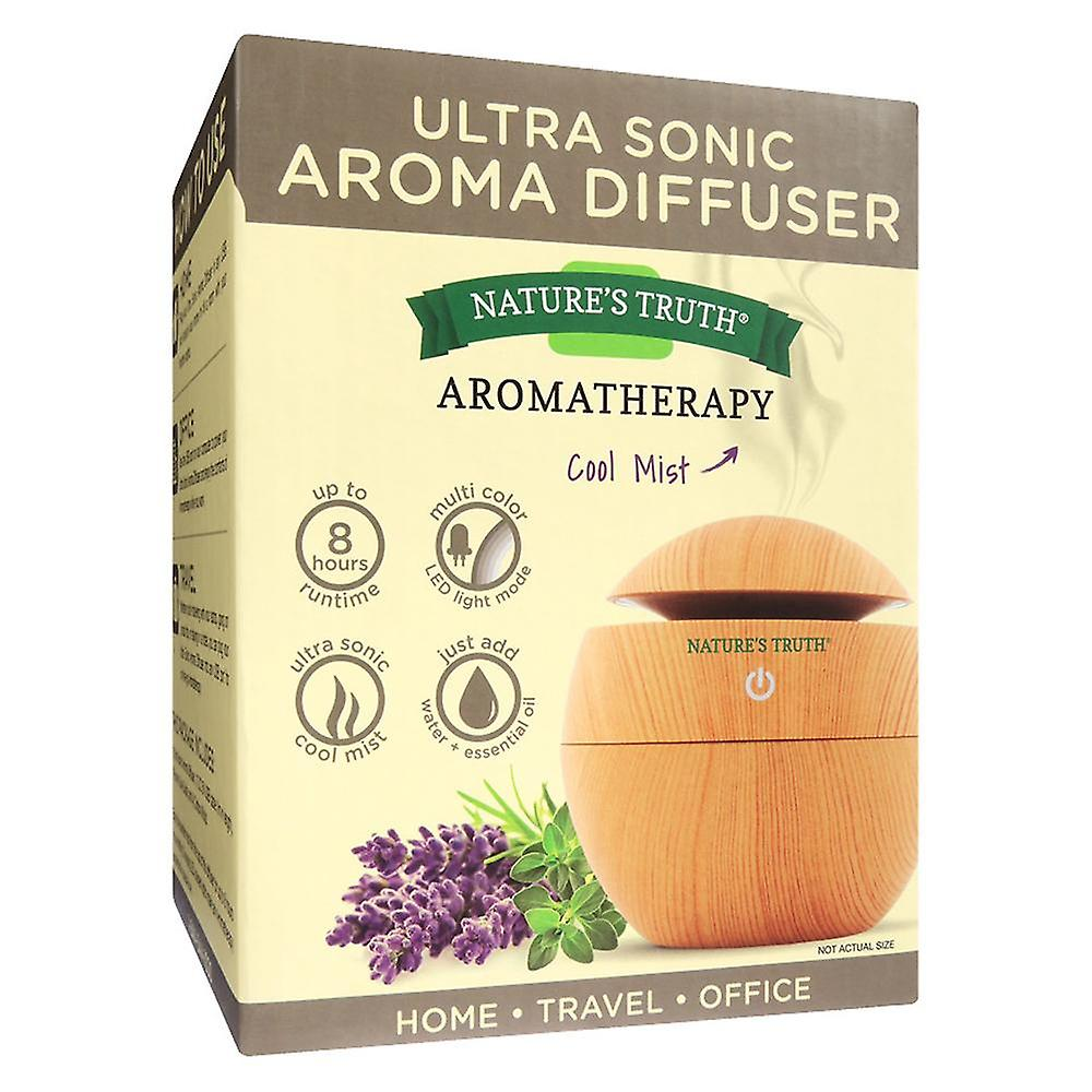 Nature's truth aromatherapy wood-look diffuser, 1 ea