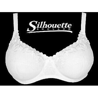 Silhouette underkläder ' Fresco Collection ' vit underwired Balconette BH