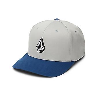 Volcom Full Stone Xfit Cap in Slate Blue