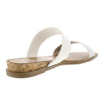 American Rag Womens Easten Faux Leather Slide Flat Sandals