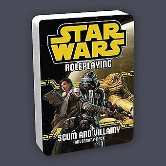 Adversary Deck Scum and Villainy RPG Board Game