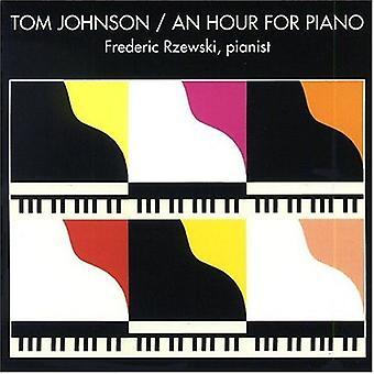 Tom Johnson - Tom Johnson: An Hour for Piano [CD] USA import