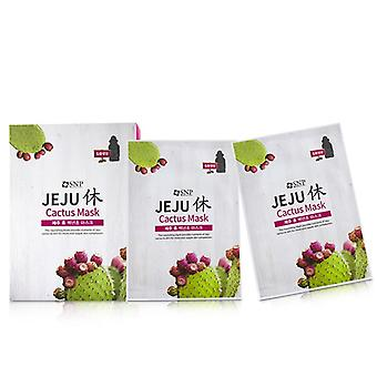 Snp Jeju Rest Cactus Mask (nourishing) - 10x22ml/0.74oz
