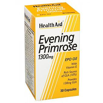 Health Aid Evening Primrose Oil 1.300Mg. 30Perlas Salute Aid