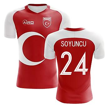 2020-2021 Turkey Home Concept Football Shirt (Soyuncu 24)