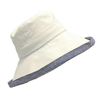 Ladies Whiteleys Classic Quality Adjustable Draw Cord Summer Bucket Sun Hat