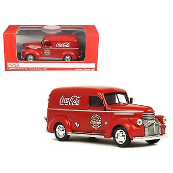 1945 Coca-Cola Panel Delivery Van Red 1/43 Diecast Model Car by Motorcity Classics