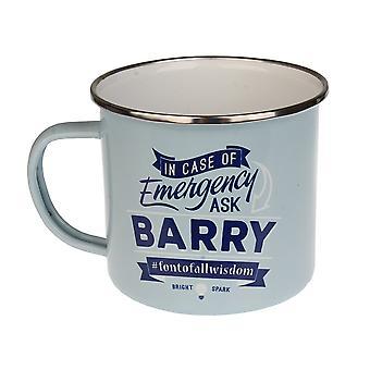 Historia & Heraldry Barry Tin Mug 30