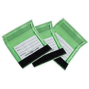 Lewis N. Clark Luggage Identifiers Handle Wraps, 3-Pack Set of Green #198GRN