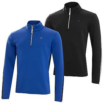 Calvin Klein Golf mens Verve halv zip Pullover topp