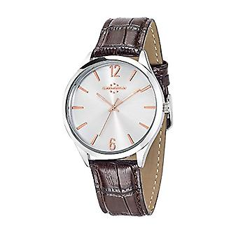 Chronostar Marshall-quartz with analog Display and black leather strap R3751245001