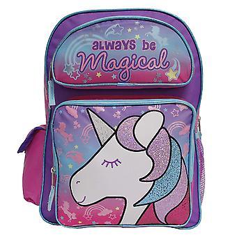 Backpack - Unicorn - Always Be Magical Purple 16