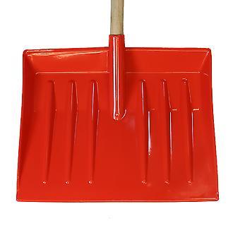 Charles Bentley Kunststoff Leichtgewicht Rot Schnee Schaufel Schaufel