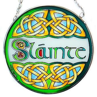 Islandcraft Slainte Stained Glass Panel