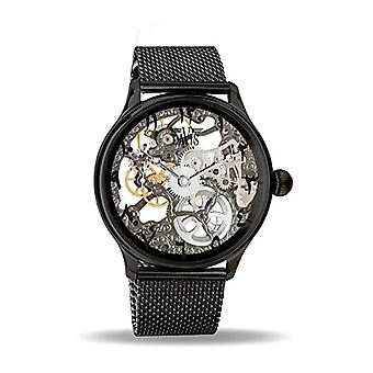 Davis Watch Skeleton mechanical Unisex Adult with stainless steel strap 0899MB East