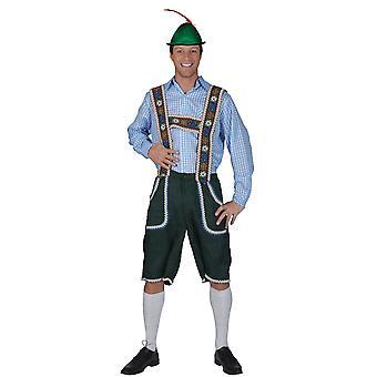 Pantalon Salzberg avec bretelles