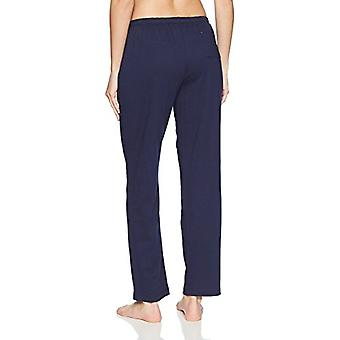 Nautica Women's Basic Knit Pajama Pant, Navy, S, Navy, Size Small